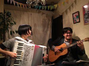 Bellow Bears+ユカポン=Bellow-pon-Bears!! @ 小さな喫茶店homeri(四ッ谷) | 新宿区 | 東京都 | 日本