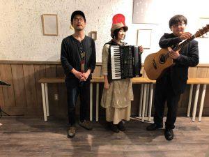 Bellow Bears+熊谷太輔(バスキング演奏) @ コピス吉祥寺 ふれあいデッキこもれび